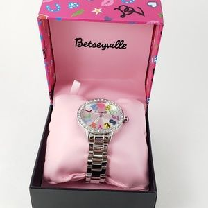 NIB! NWT! Betsey Johnson Watch